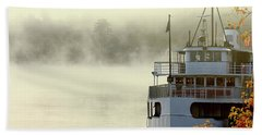 Foggy Morning Cruise Hand Towel