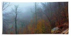 Foggy Nature Bath Towel