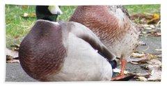 Quack..quack, Follow Me And I Follow You Later. Hand Towel