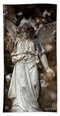 Follow The Heavenly Messenger - Christian Angel Art Bath Towel