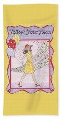 Follow Your Heart Bath Towel
