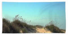 Folly Beach Sc Dunes Hand Towel