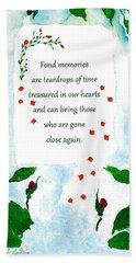Fond Memories Hand Towel