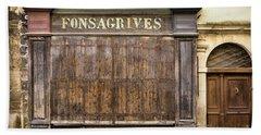 Fonsagrives In Saint-antonin-noble-val Bath Towel by RicardMN Photography
