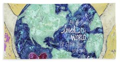 For He So Loved The World Hand Towel
