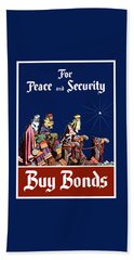 For Peace And Security - Buy Bonds Hand Towel