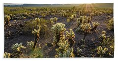 Sea Of Cholla Bath Towel