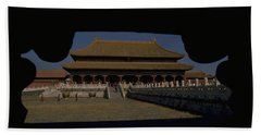 Hand Towel featuring the photograph Forbidden City, Beijing by Travel Pics