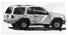 Ford Explorer Bath Towel