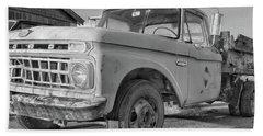 Ford F-150 Dump Truck Bw Hand Towel