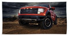 Ford F 150 Raptor  Bath Towel