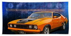 Ford Falcon Xb 351 Gt Coupe Bath Towel
