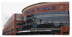 Ford Field Bath Towel