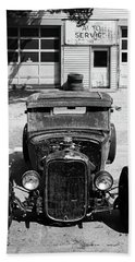 Hand Towel featuring the photograph Ford Low-boy by Christopher McKenzie