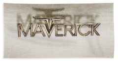 Ford Maverick Badge Bath Towel