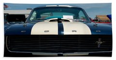 Ford Mustang 2 Bath Towel by Mark Dodd