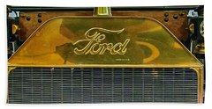 Ford Bath Towel by R Thomas Berner