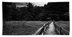 Fore River Marsh Hand Towel