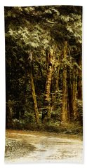 Forest Curve Hand Towel