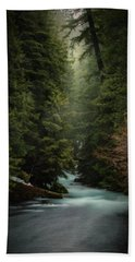 Hand Towel featuring the photograph Forest Enchantment by Cat Connor