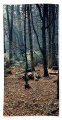 Fir Forest-1 Bath Towel by Henryk Gorecki