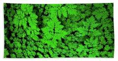 Forest Floor - Northern California Hand Towel by Henri Irizarri