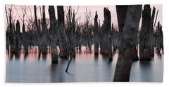 Bath Towel featuring the photograph Forest In The Water by Jennifer Ancker