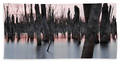 Forest In The Water Hand Towel by Jennifer Ancker