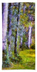 Forest Light Bath Towel