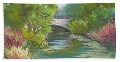 Forest Park Bridge Bath Towel