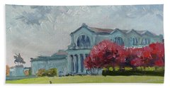 Forest Park Sunny Morning St.louis Hand Towel