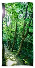 Forest Path Bath Towel