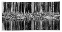 Forest Reflections Bath Towel