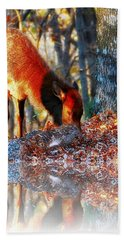 Forest Reflections Hand Towel by Steve Warnstaff