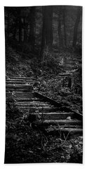 Forest Stairs Hand Towel