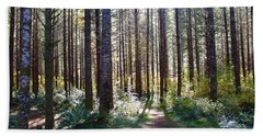 Forest Stroll Bath Towel