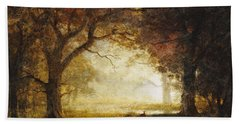Forest Sunrise Hand Towel