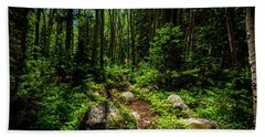 Forest Tranquility Bath Towel