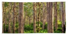 Hand Towel featuring the photograph Forest Twilight, Boranup Forest by Dave Catley