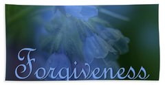 Forgiveness Blue Bells Hand Towel