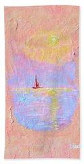 Forgotten Joy Bath Towel by Donna Blackhall