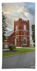 Fork Union Military Academy Wicker Chapel Sized For Blanket Hand Towel