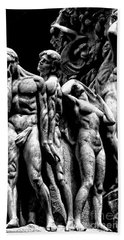 Hand Towel featuring the photograph Forms In Marble by Paul W Faust - Impressions of Light