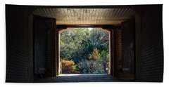 Fort Clinch Portal Hand Towel by Kenneth Albin