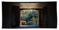 Fort Clinch Portal Bath Towel by Kenneth Albin