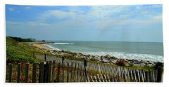 Fort Fisher Beach Hand Towel