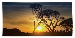 Fort Fisher Sky Watch Bath Towel