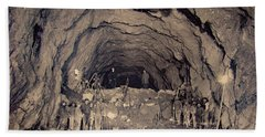 Fort George Tunnel, 1904 Bath Towel