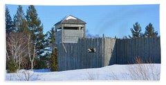 Fort Michilimackinac Northeast Blockhouse Hand Towel