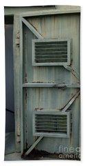 Fort Moultrie Green Metal Door Entrance Hand Towel